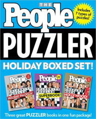 PEOPLE Puzzler Holiday Boxed Set - Editors of People Magazine