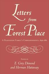 Letters from Forest Place - Dimond, E. Grey / Hattaway, Herman / Diamond, E. Grey