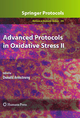 Advanced Protocols in Oxidative Stress II - Donald Armstrong