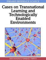 Cases on Transnational Learning and Technologically Enabled Environments
