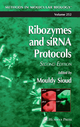 Ribozymes and SiRNA Protocols - Mouldy Sioud