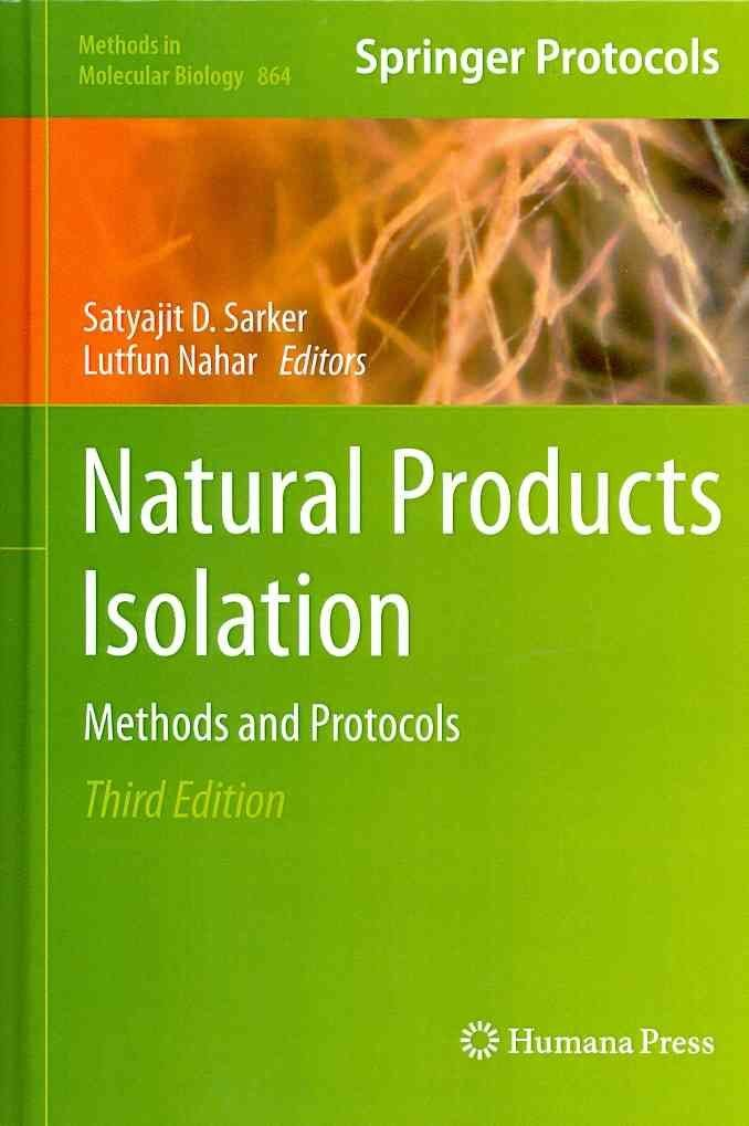 Natural Products Isolation - Satyajit D. Sarker