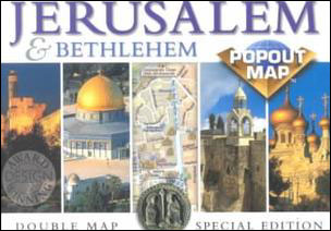 Jerusalem - Popout Map