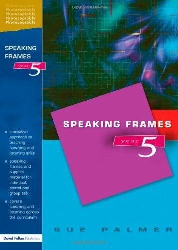 Speaking Frames -- Year 5 by Palmer, Sue Paperback Book The Fast Free Shipping