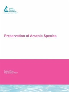 Preservation of Arsenic Species - Herausgeber: Samanta, Gautam Clifford, Dennis A.