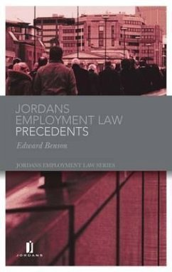Jordans Employment Law Precedents - Benson Benson, Edward, Lawyer Randall, Nicholas