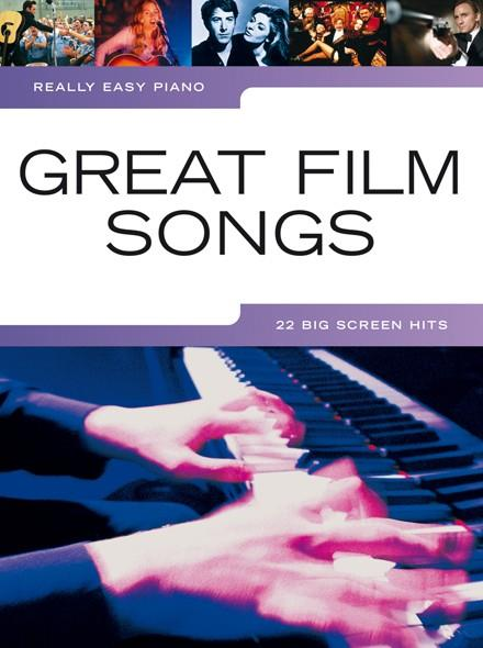 Great Film Songs : for really easy piano