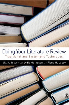 Doing Your Literature Review - Jesson, Jill Matheson, Lydia Lacey, Fiona M