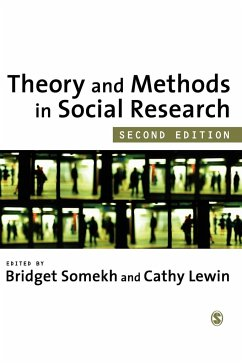 Theory and Methods in Social Research - Herausgeber: Somekh, Bridget Lewin, Cathy