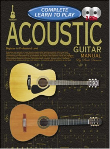 Acoustic Guitar Manual (Complete Learn to Play)