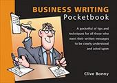 The Business Writing Pocketbook - Bonny, Clive