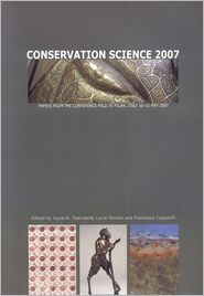 Conservation Science 2007 - Joyce Townsend