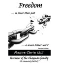 Freedom... is More Than Just a Seven-letter Word - Veronica Chapman