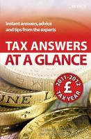 Tax Answers at a Glance