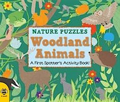 Nature Puzzles 01. Woodland Animals - Catherine Bruzzone