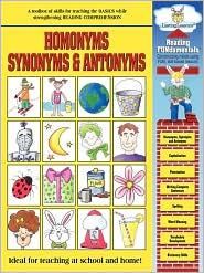 Reading Fundamentals - Homonyms, Synonyms & Antonyms - Karen Shackelford