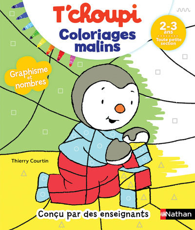 Tchoupi Coloriages Malins Tps - T.courtin