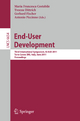 End-User Development - Maria Francesca Costabile; Yvonne Dittrich; Gerhard Fischer; Antonio Piccinno