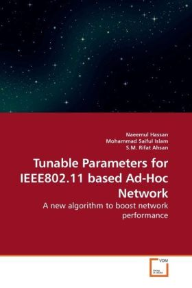Tunable Parameters for IEEE802.11 based Ad-Hoc Network als Buch von Naeemul Hassan, Mohammad Saiful, S. M. Rifat - Naeemul Hassan, Mohammad Saiful, S. M. Rifat