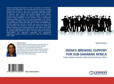 INDIA'S BREWING SUPPORT FOR SUB-SAHARAN AFRICA - Kamini Krishna