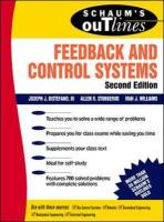 Schaum's Outline of Feedback and Control Systems, Second Edition (Schaum's Outline Series)