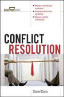 Conflict Resolution: Mediation Tools for Everyday Worklife (Briefcase Book.)