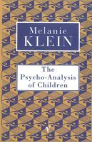 The Psycho-Analysis of Children (Contemporary Classics)