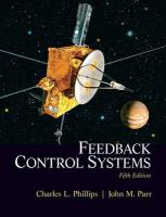 Feedback Control Systems: Charles L. Phillips, John M. Parr