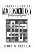 Introduction to Macrosociology