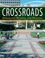 Crossroads: Integrated Reading and Writing Plus Myskillslab -- Access Card Package