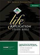 NASB, Life Application Study Bible, Second Edition, Top-Grain Leather, Black