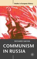 Communism in Russia: An Interpretative Essay
