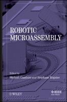 Robotic Microassembly Michael Gauthier Editor