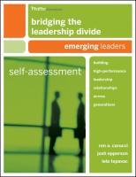 Bridging the Leadership Divide