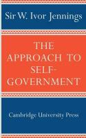 The Approach to Self-Government