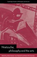 Nietzsche, Philosophy and the Arts