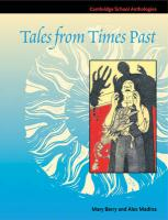 Tales from Times Past: Sinister Stories from the 19th Century (Cambridge School Anthologies)