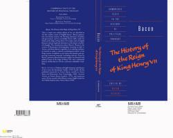 Bacon: The History of the Reign of King Henry VII and Selected Works (Cambridge Texts in the History of Political Thought)