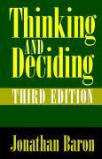 Thinking and Deciding