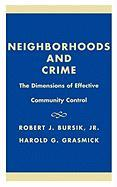 Neighborhoods & Crime - Bursik, Robert