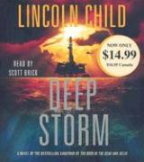 Deep Storm Lincoln Child Author