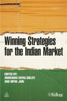 Winning Strategies for the Indian Market - Dayal-Gulati, Anuradha; Jain, Dipak, C.