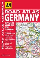 AA Road Atlas Germany