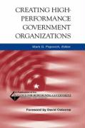 Creating High-Performance Government Organizations (Jossey-Bass Nonprofit and Public Management Series)