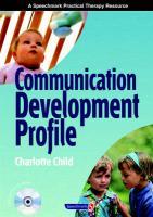 Communication Development Profile