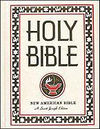 Saint Joseph Family Bible: New American Bible (NABRE), white imitation leather, illustrated Confraternity of Christian Doctrine Author