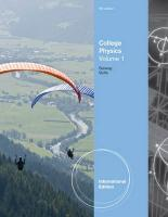 College Physics. Volume 1
