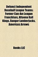 Defunct Independent Baseball League Teams: Former Can-Am League Franchises, Altoona Rail Kings, Bangor Lumberjacks, Americus Arrows