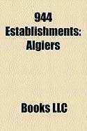 944 Establishments: Algiers, Ranthambore Fort