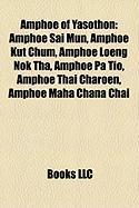 Amphoe of Yasothon: Amphoe Sai Mun, Amphoe Kut Chum, Amphoe Loeng Nok Tha, Amphoe Pa Tio, Amphoe Thai Charoen, Amphoe Maha Chana Chai